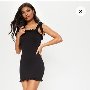 PLT Black Bodycon Dress
